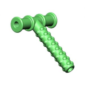 Green Knobby Chewy Tube