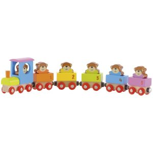 Wooden Teddies Train