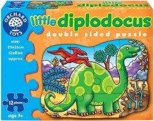 Diplodocus Double Sided Puzzle