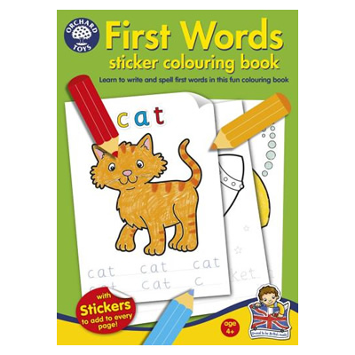 orchard-toys-first-words-sticker-colouring-book